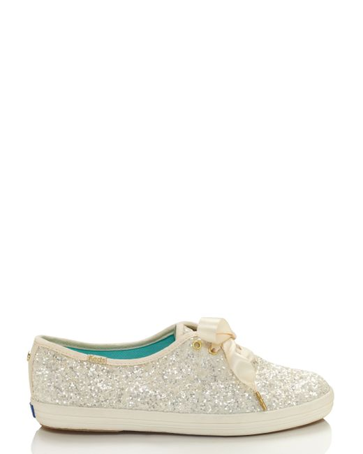 Kate Spade | White Keds For Glitter Sneakers | Lyst