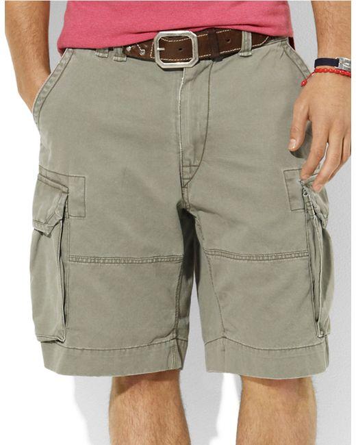 Polo Ralph Lauren | Green Gellar Fatigue Shorts for Men | Lyst