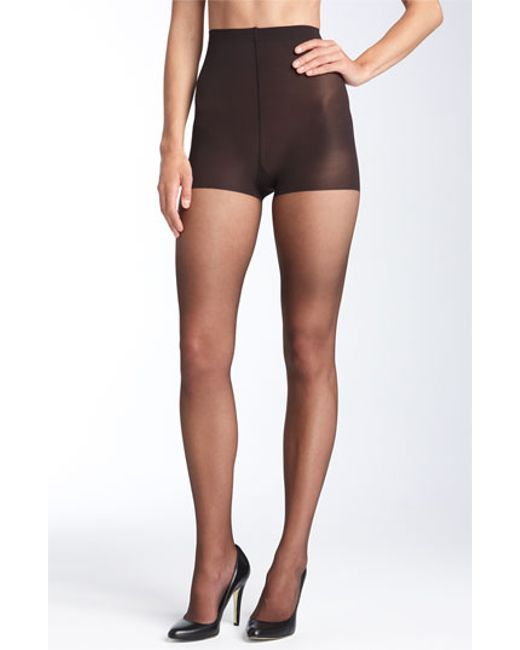 Donna Karan | Brown Donna Karan 'ultra Sheer' Control Top Pantyhose | Lyst
