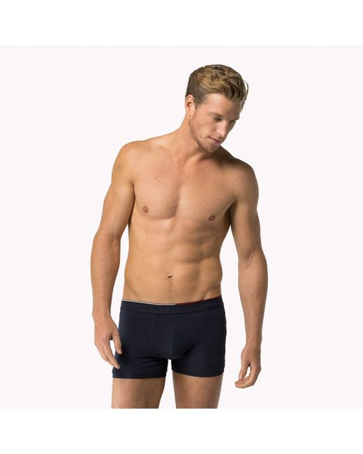 Tommy Hilfiger | Blue Cotton Modal Trunks for Men | Lyst