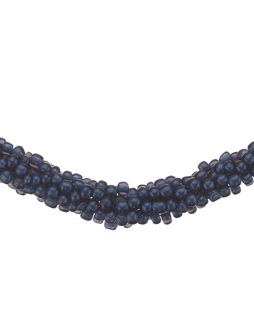 John Lewis   Blue Twisted Bead Necklace   Lyst