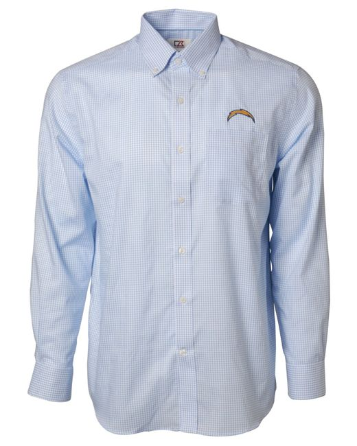 Cutter Buck Men 39 S San Diego Chargers Tattersall Dress