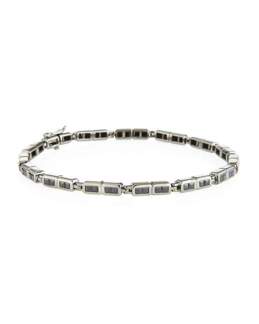 Stephen Webster | Metallic Black Sapphire Men's Bracelet for Men | Lyst