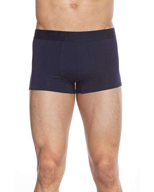 Naked | Blue Signature Modal & Cotton Trunks for Men | Lyst