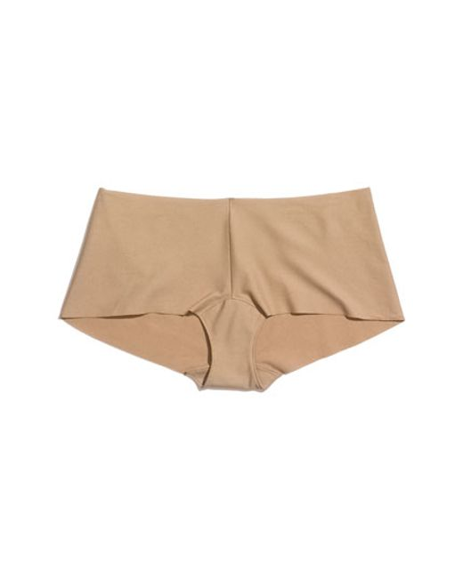 Commando | Natural Cotton Boyshorts | Lyst