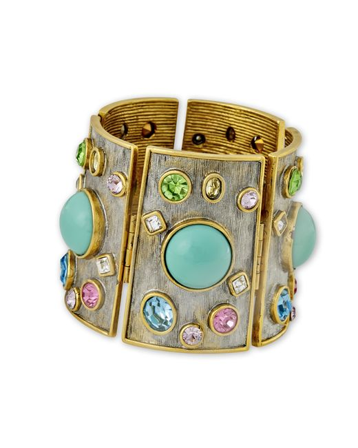 Kenneth Jay Lane | Multicolor Multi Color Cuff | Lyst