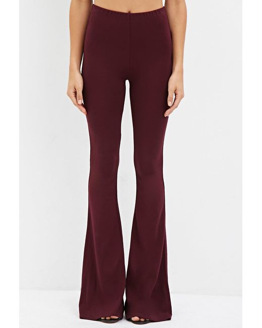 Forever 21 | Purple Classic Flared Pants | Lyst