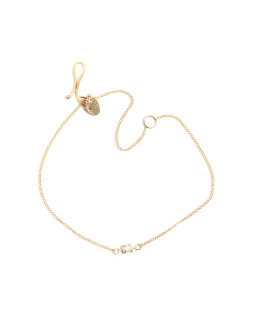 Melissa Joy Manning | Metallic Gold Chain Bracelet With Pearl | Lyst
