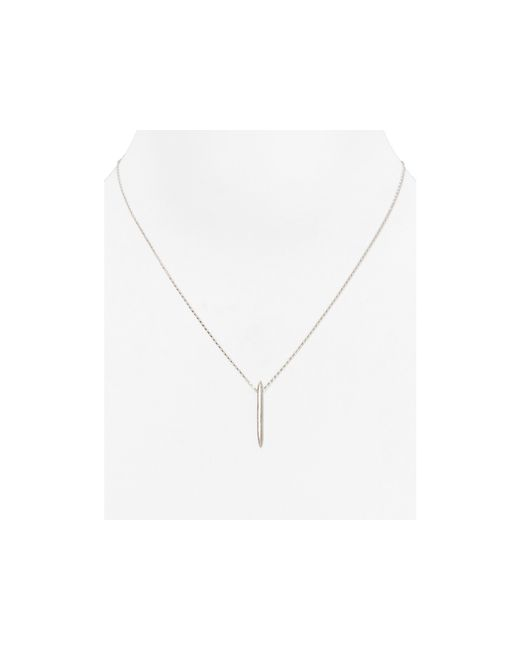 Dogeared | Metallic Balance Spiked Spear Necklace, 18"