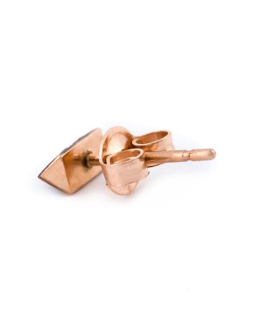 Selin Kent   Black 'sophia' Diamond Earring   Lyst