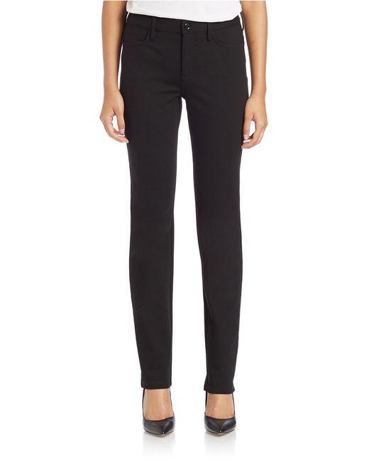 NYDJ | Black Samantha Slim-leg Jeans | Lyst