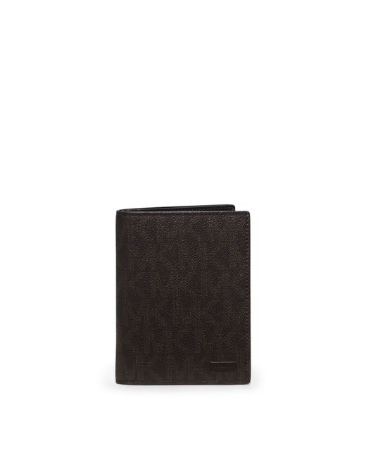 Michael Kors | Brown Jet Set Logo Passport Case for Men | Lyst