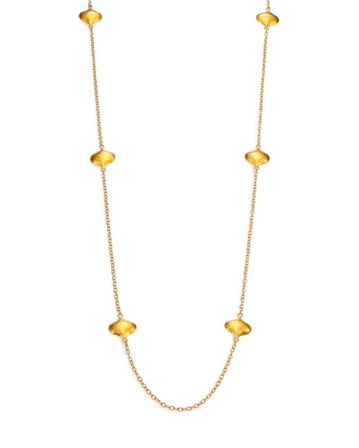 Gurhan | Metallic Clove 24k Yellow Gold Cielo Long Station Necklace | Lyst
