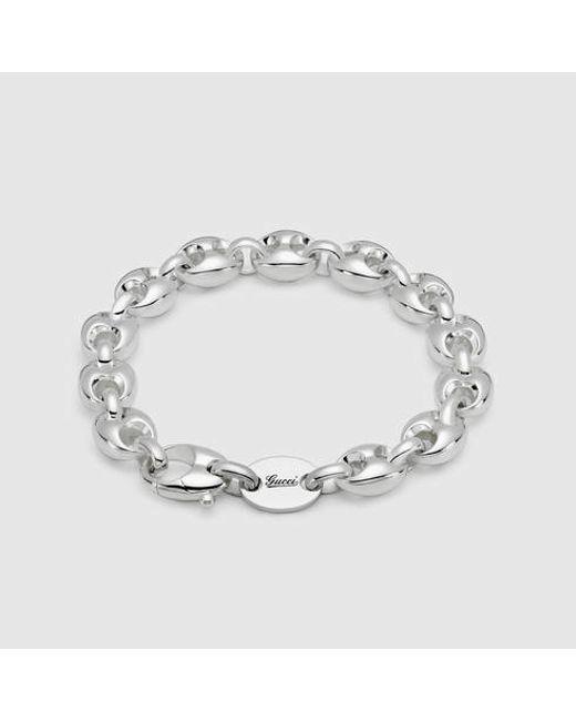 Gucci | Metallic Marina Chain Bracelet | Lyst