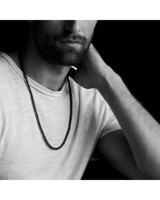 David Yurman | Spiritual Bead Necklace With Green Onyx for Men | Lyst