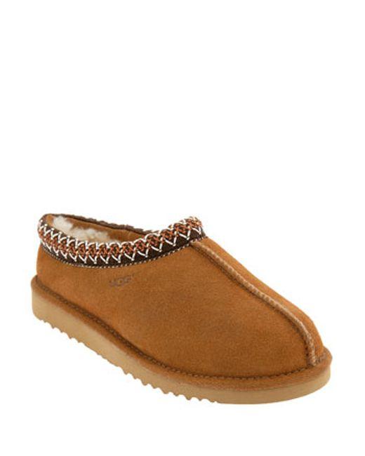 Ugg | Brown Ugg 'tasman' Slipper | Lyst