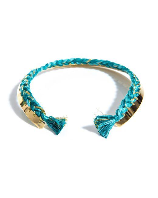 Aurelie Bidermann | Green Copacabana Gold Necklace | Lyst
