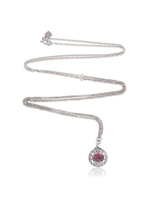 Anna Sheffield | Metallic Rosette Necklace | Lyst