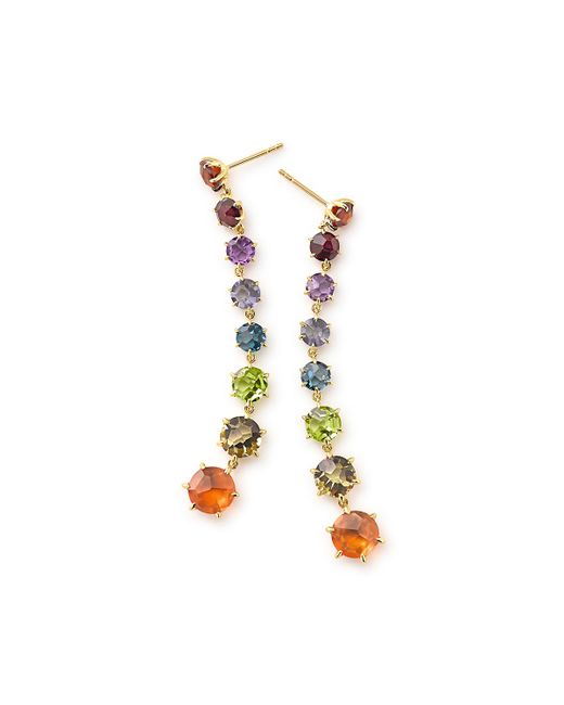 Ippolita | Metallic 18k Rock Candy Dangle Earrings | Lyst