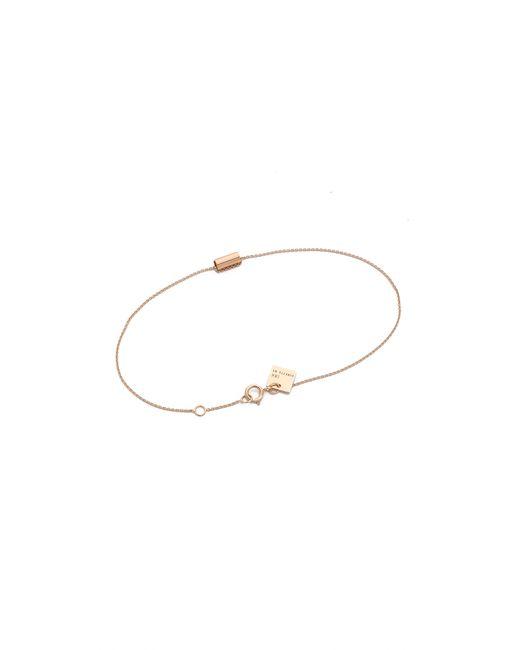 Ginette NY | Metallic Mini Straw Bracelet | Lyst
