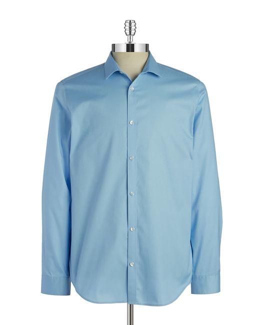 Calvin Klein | Blue Cool Tech Sportshirt for Men | Lyst