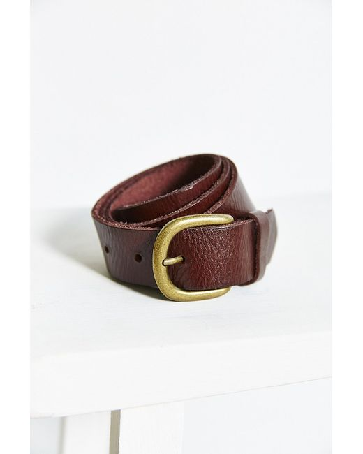 BDG | Brown Everyday Leather Belt | Lyst