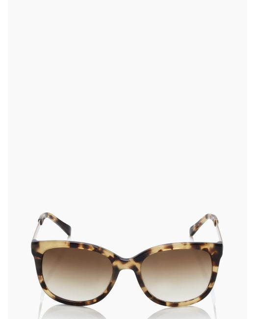 Kate Spade | Brown Gayla Sunglasses | Lyst