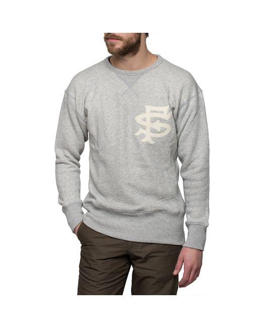 Ebbets field flannels Grey San Francisco Seals Sweatshirt in Gray for ...
