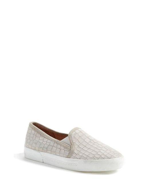Joie | Gray 'huxley' Slip-on Sneaker | Lyst