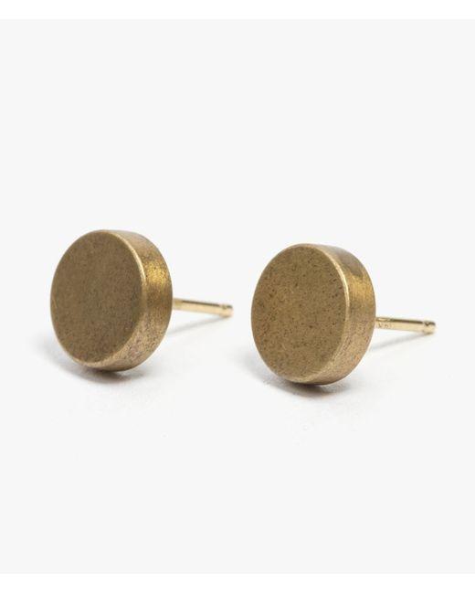 Marmol Radziner | Metallic Puck Earrings | Lyst