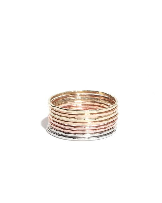 Melissa Joy Manning | Metallic Stacking Gold Rings | Lyst