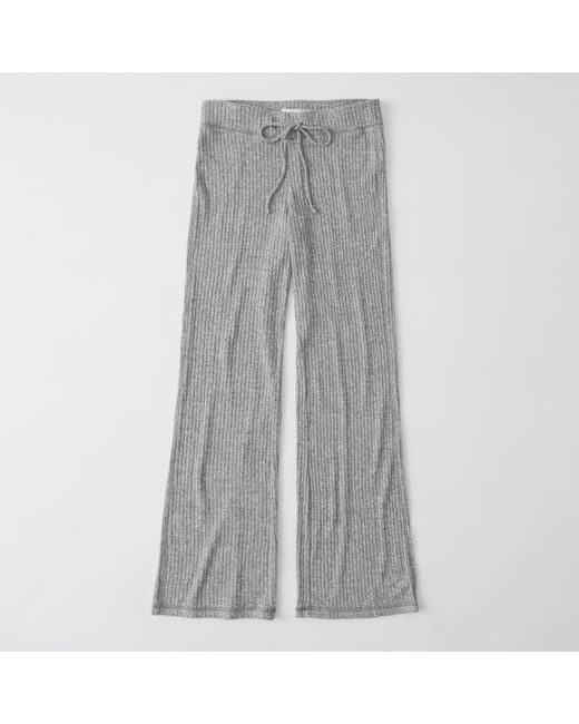 Abercrombie & Fitch | Gray Ribbed Pants Exchange Color / Size | Lyst