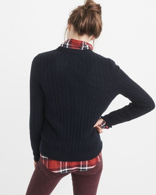 Abercrombie & fitch Cashmere Icon Crew Sweater Exchange Color ...