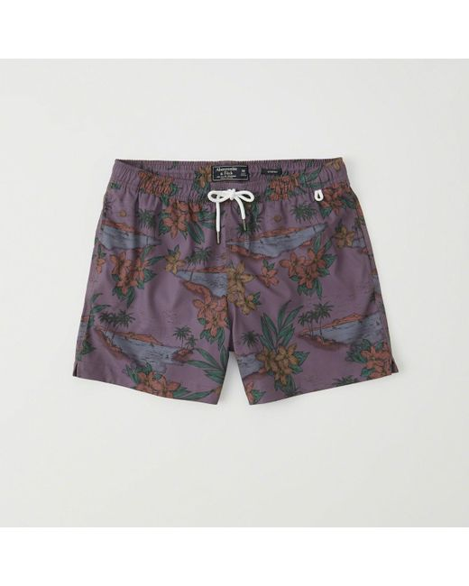 Abercrombie & Fitch - Multicolor Classic Trunks for Men - Lyst