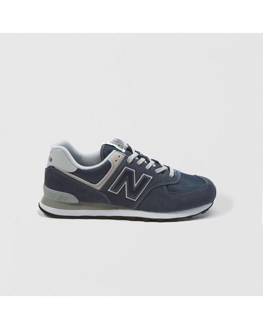 9a4ed30523 Lyst - New Balance 574 in Blue for Men