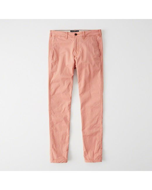 Abercrombie & Fitch - Multicolor Super Skinny Chino Pants - Lyst