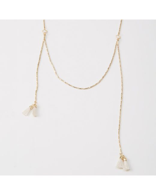 Abercrombie & Fitch | Metallic Delicate Necklace | Lyst