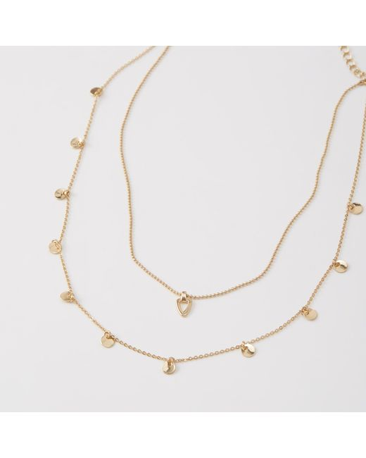 Abercrombie & Fitch | Multicolor Delicate Necklace | Lyst