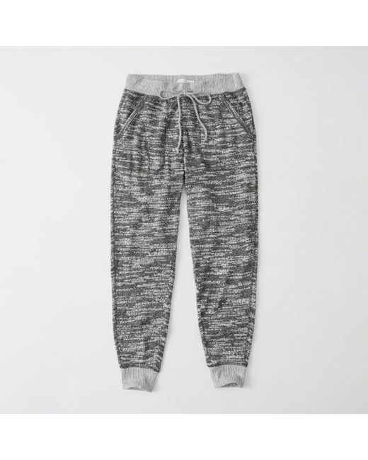 Abercrombie & Fitch | Gray Cozy Knit Jogger | Lyst