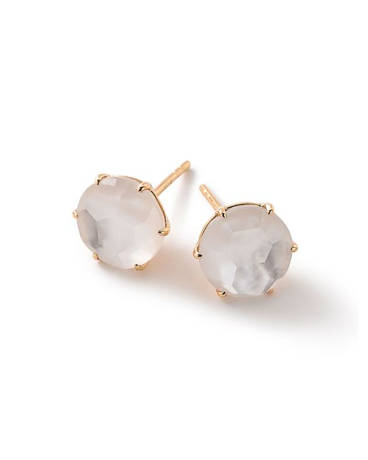 Ippolita | White 18k Rock Candy Round Stud Earrings | Lyst