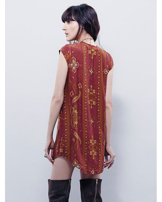 Free People | Purple Goldie Dress | Lyst