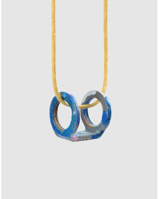 Stefania Pia | Blue Necklace | Lyst