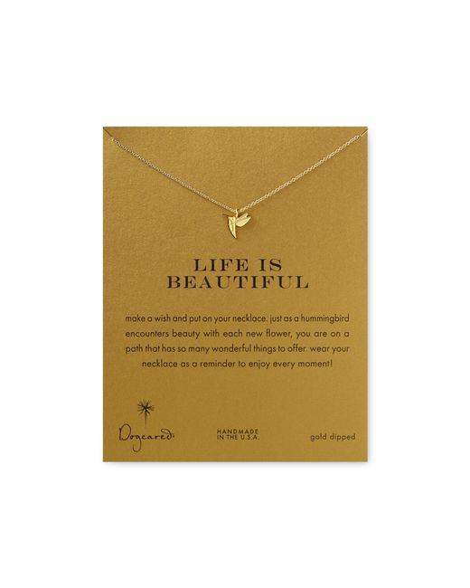 Dogeared | Metallic Life Is Beautiful Necklace, 18"