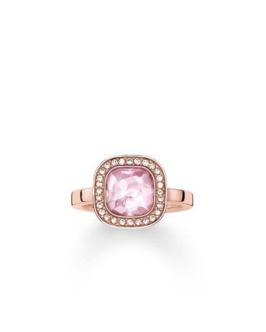Thomas Sabo | Secret Of Cosmo Pink Corundum Ring | Lyst