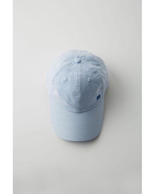 Acne - Baseball Cap light Blue - Lyst