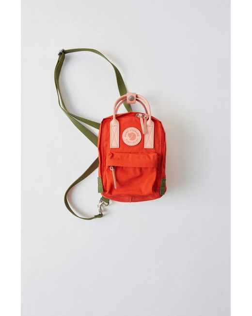 Acne - Micro Scale Bag deep Orange for Men - Lyst