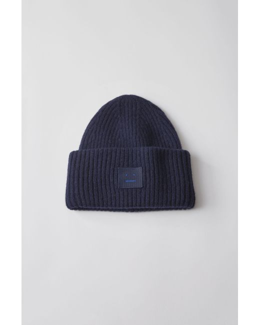 Acne Studios Pansy L Face navy in Blue for Men - Lyst 1d23afcc2a7a