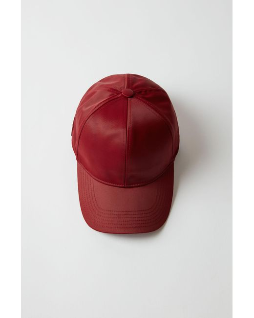 Acne | Red Camp Tech Face burgundy for Men | Lyst