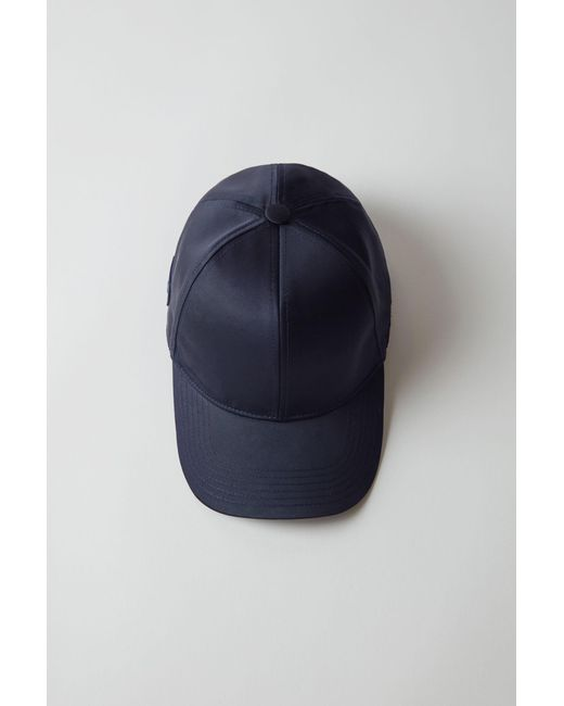 Acne - Blue Baseball Cap navy - Lyst