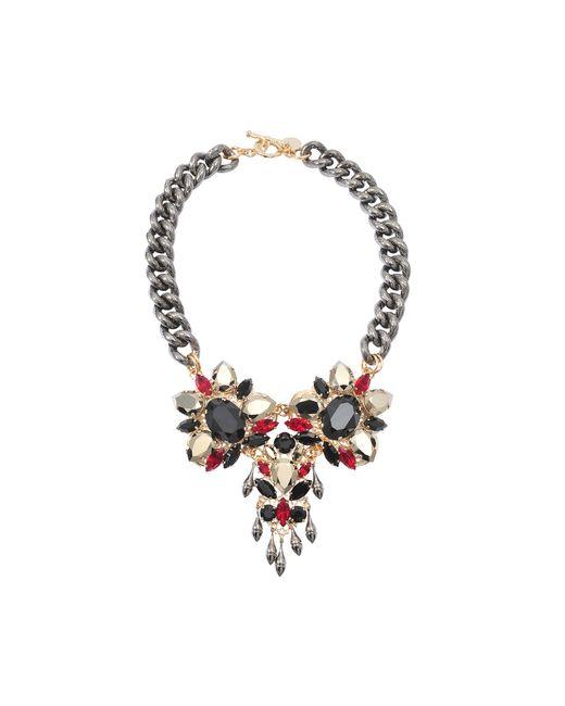 Anton Heunis | Multicolor Triple Crystal Exclusive Necklace | Lyst